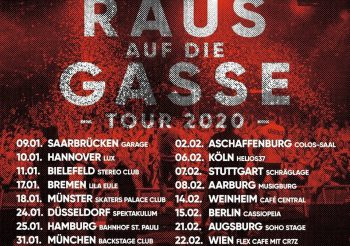 München • Bosca RADG – Tour 2020, 31.01.2020, Backstage München