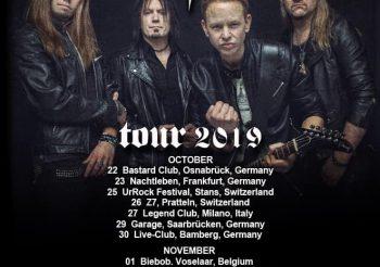 Eclipse + support: Junkyard Drive – 04.11.2019 / Backstage München