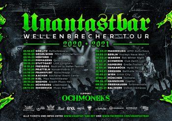 UNANTASTBAR – Wellenbrecher Tour – 17.04.2021 – Zenith München